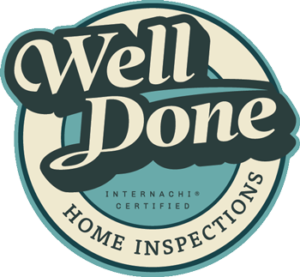 Well Done Home Inspections Logo