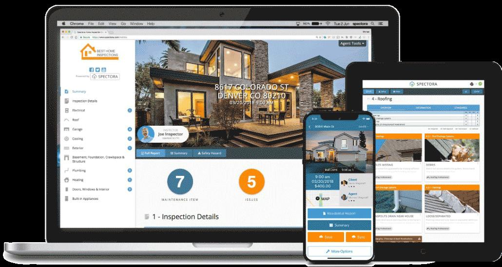 Spectora Modern Home Inspection Report
