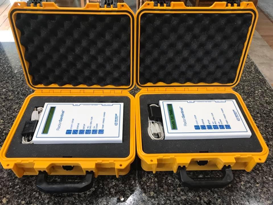 Radon Testing Equipment
