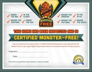 Monster Free Home Guarantee