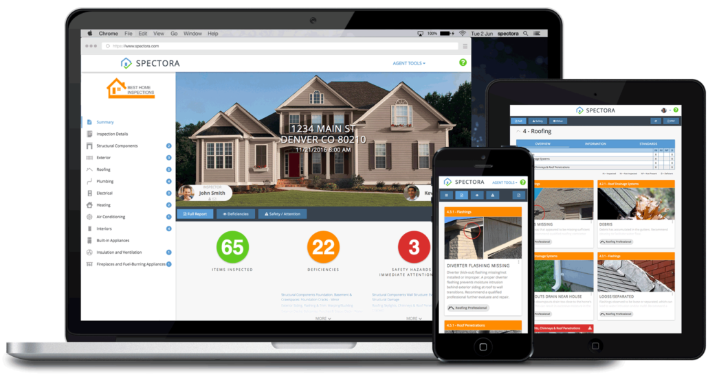 home inspector software