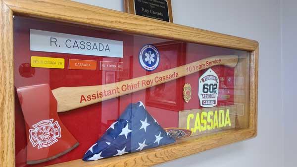 Roy Cassada Retired Fire Fighter